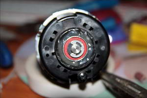 Ремонт подшипников электродвигателя печки