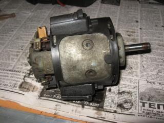 Ремонт электродвигателя печки Пежо