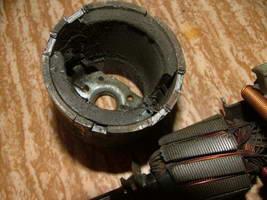 Ремонт электромотора отопителя автомобиля