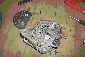 Ремонт генератора Mitsubishi Carisma